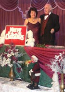 Jeannie & Henry at Livermead House Christmas Ball